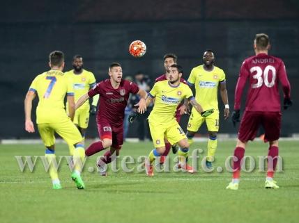 CFR Cluj invinge Steaua cu un gol din offside si dupa o gafa a lui Nita