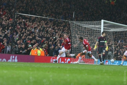 Wayne Rooney, decisiv pentru Manchester United in Grupa B