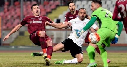 CFR Cluj revine spectaculos si salveaza remiza cu Voluntari