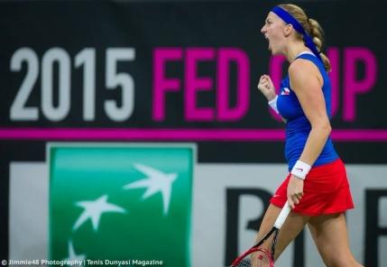 Cehia si Rusia la egalitate dupa prima zi a finalei Fed Cup