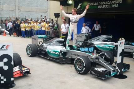 Nico Rosberg, victorie autoritara in Marele Premiu al Braziliei
