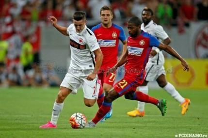 Dinamo umileste Steaua in Stefan cel Mare