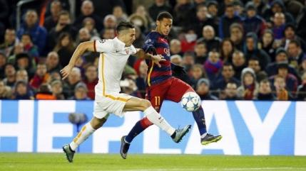 Barcelona o spulbera pe Roma si merge in optimi