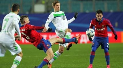 Wolfsburg bate la Moscova si pune presiune pe Manchester United