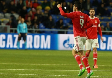 Benfica scoate cu greu un egal in Kazahstan