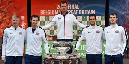 Cupa Davis: Marea Britanie la conduce dupa meciul de dublu