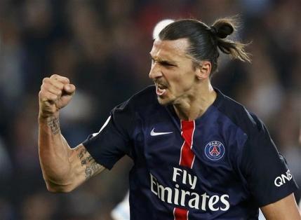 Zlatan Ibrahimovic, cel mai bun marcator din istoria lui PSG in campionatul Frantei