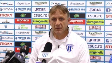 Emil Sandoi va fi schimbat de la CSU Craiova