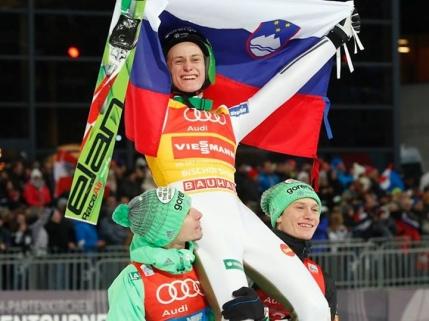 Turneul Celor 4 Trambuline: Un sloven invingator la general