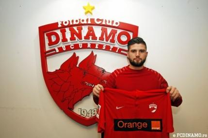 Dinamo si-a luat un portar pus pe liber de Viitorul