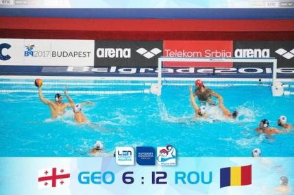 Debut cu dreptul pentru Romania la Campionatul European de polo