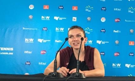 Simona Halep despre disputa cu Svetlana Kuznetsova: Imi place sa joc impotriva ei