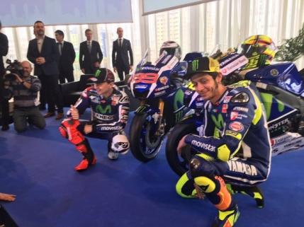 Valentino Rossi in fata unui nou inceput. Cum arata noul model Yamaha M1