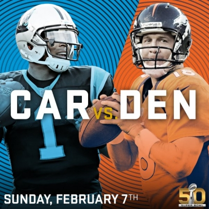Denver Broncos si Carolina Panthers vor disputa Super Bowl 50