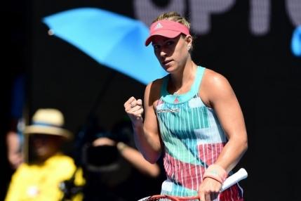 Angelique Kerber continua la Australian Open si ramane in cursa pentru locul doi mondial
