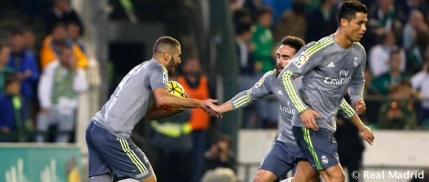Real Madrid blocata de Betis si primul pas gresit facut cu Zidane pe banca