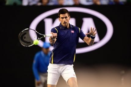 Novak Djokovic il invinge Roger Federer in semifinale la Australian Open