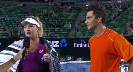 Australian Open: Horia Tecau in finala probei de dublu mixt alaturi de Coco Vandeweghe. Andrei Pavel le-a facut lipeala