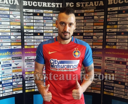 Gebhart a semnat cu Steaua