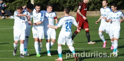 Pandurii Tg.Jiu la egalitate cu Dinamo Moscova intr-un amical