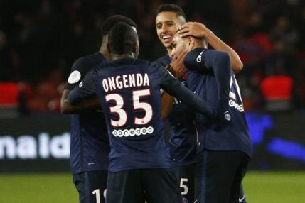 Record pentru Paris Saint Germain in fotbalul francez