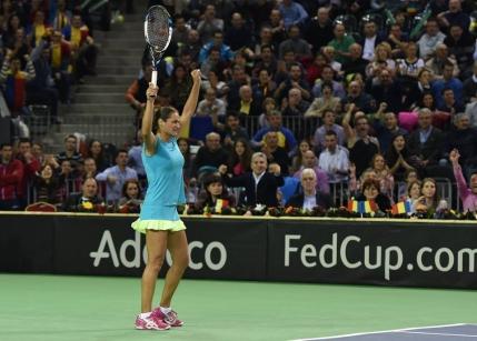Monica Niculescu, victorie uriasa cu Petra Kvitova in Fed Cup