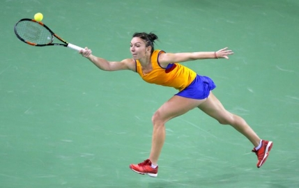 Simona Halep a jucat in conditii extreme meciul doi la Fed Cup: