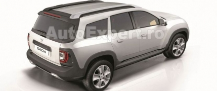 Prima imagine oficiala cu noua Dacia Duster