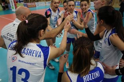 CSM Bucuresti la un pas de semifinalele Challenge Cup