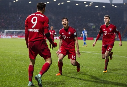 Bayern Munchen completeaza careul de asi in Cupa Germaniei