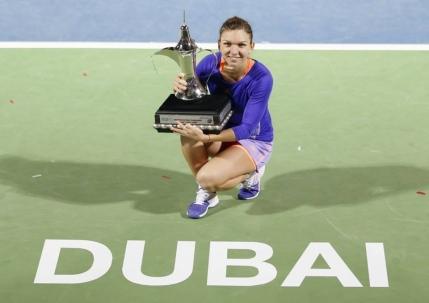 Simona Halep increzatoare inaintea turneelor din Golf: