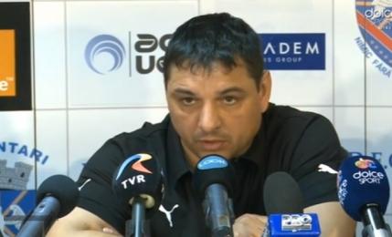 Ionel Ganea inaintea debutului la Voluntari: