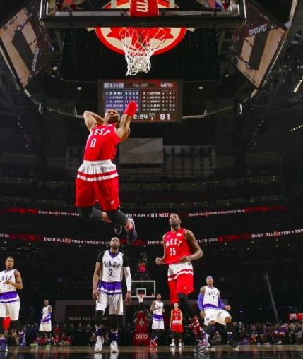 All Star Game: Vestul a invins Estul. Ultima aparitie pentru Kobe Bryant