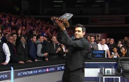 Ronnie O'Sullivan cucereste titlul la Openul Galez. Sapte frame-uri la rand obtinute in fata lui Neil Robertson