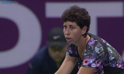 Carla Suarez Navarro pune mana pe titlul de la Doha
