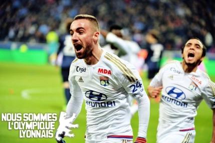 Olympique Lyon pune capat invincibilitatii celor de la PSG in Ligue 1