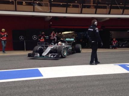 Mercedes isi arata adevarata fata in testele din Formula 1