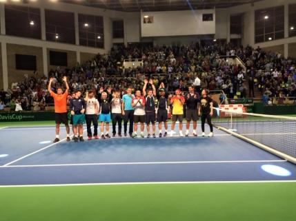 Cupa Davis: Romania invinge Slovenia cu 4-1. Sa vina Spania lui Nadal!