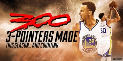 Stephen Curry si Golden State Warriors doboara record dupa record in NBA (video)