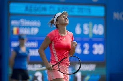Simona Halep, multumita de parcursul la Indian Wells
