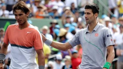 Djokovic si Nadal ofera un moment unic pe tunelul spre vestiare la Indian Wells (foto)