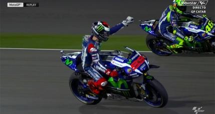 Jorge Lorenzo se impune in debutul sezonului de MotoGP