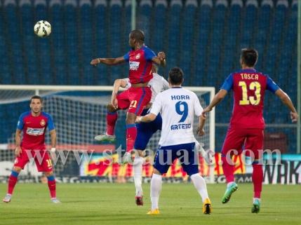 Steaua castiga din penalty cu Pandurii. Marica a iesit accidentat