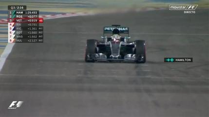Pole position pentru Lewis Hamilton in Bahrain cu nou record al circuitului