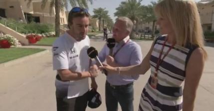 """Fernando Alonso si-a varsat nervii pe un fost pilot din Formula 1: """"De asta ai ajuns comentator"""" (video)"""