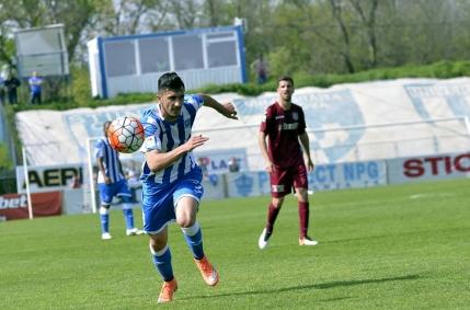 CFR Cluj profita de omul in plus si scoate un punct la Craiova