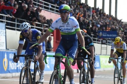 Invingator surpriza in Paris-Roubaix. Belgianul Tom Boonen la un varf de roata de a 5-a victorie