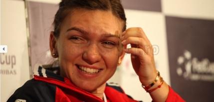 Simona Halep vrea sa rezolve singura meciul de Fed Cup cu Germania. Hohote de ras in echipa Romaniei