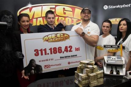 Aparatele Megajackpot i-au adus 70.000 euro unui bucurestean, cu doar 10 lei jucati