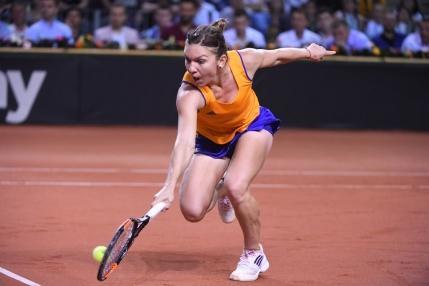 Fed Cup: Simona Halep, invinsa categoric de Angelique Kerber. Nu stie daca joaca la Stuttgart